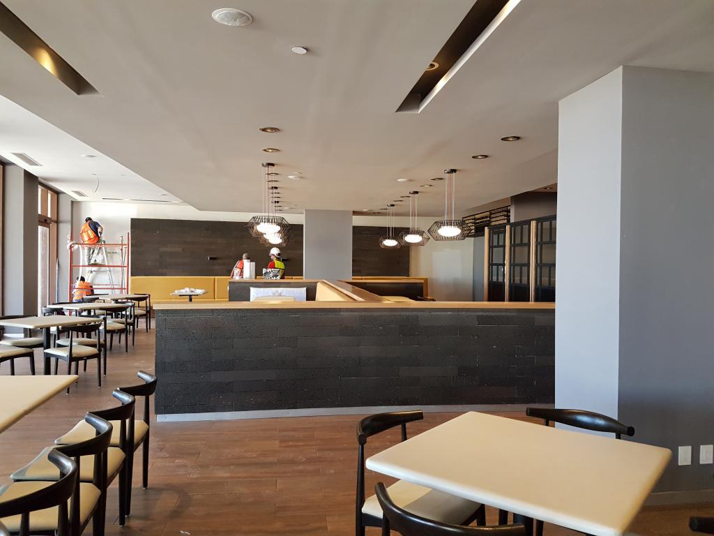 Remodelación de restaurant